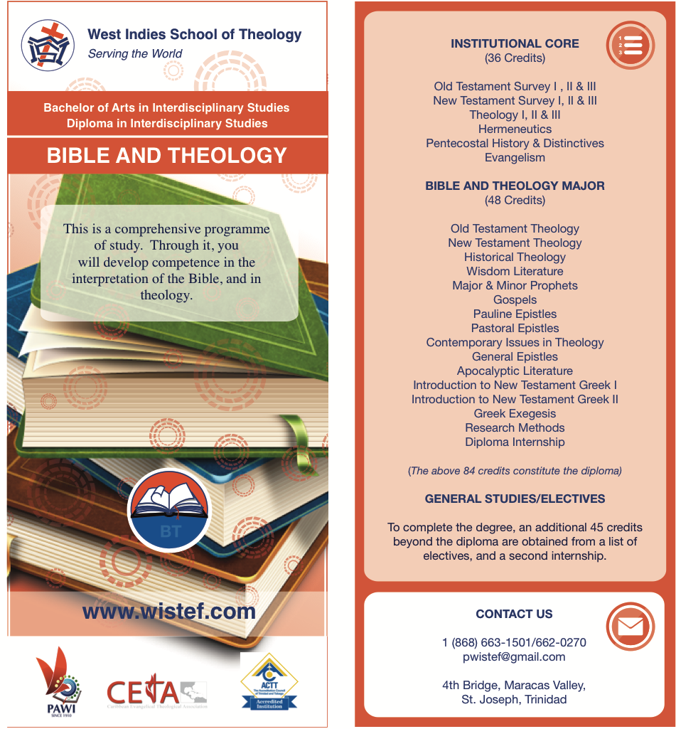 Theology: Bible And Theology